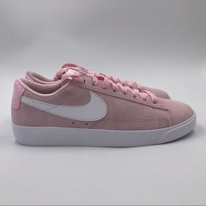 Nike W Blazer Low SD Shoes 8 AV9373 600 Pink White